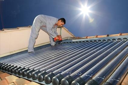 installateur chauffe-eau solaire
